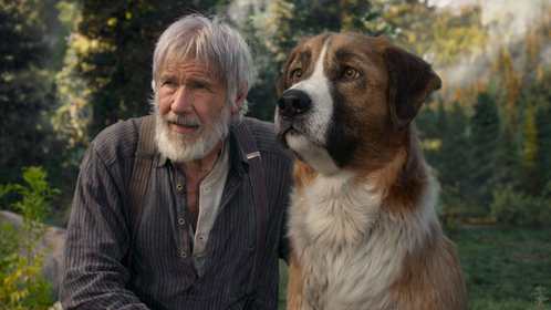 Harrison Ford plays a prospector with a soft spot for a dog in
