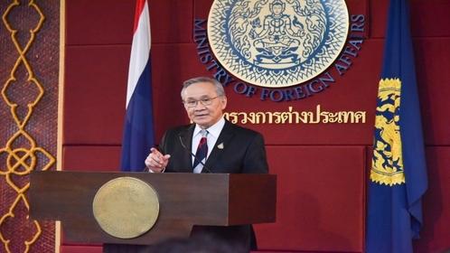 Foreign Minister, Don Pramudwinai