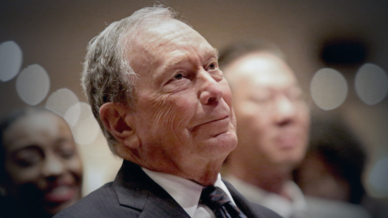 Mike Bloomberg/ Getty Images