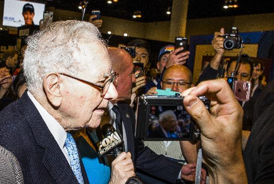 File Photo /Warren Buffett/Syndication Washington Post, Bloomberg