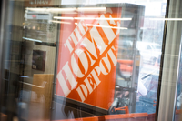 Home Depot rebounded from a string of disappointing results with profit in the fourth quarter that topped analysts' projections as the U.S. housing market heated up. The shares gained the most in six months.