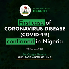 Photo credit:  Nigeria Health ministry on Twitter