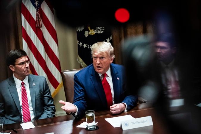 President Trump/file photo / Syndication Washington Post