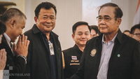 Prime Minister General Prayut Chan-o-cha,right.