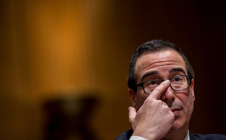 File photo of Treasury Secretary Steven Mnuchin / Syndication Washington Post