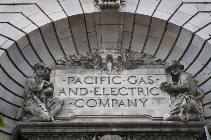 Pacific Gas and Electric headquarters in San Francisco on Jan. 14, 2019. MUST CREDIT: Bloomberg photo by David Paul Morris.