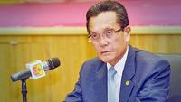 Minister of Home Affairs Pehin Orang Kaya Seri Kerna Dato Seri Setia (Dr) Haji Awang Abu Bakar bin Haji Apong. PHOTO: JAMES KON