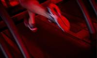 A client runs on a treadmil. MUST CREDIT: Scott Eells/Bloomberg