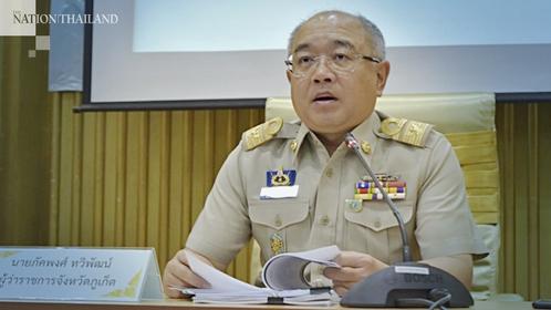 Phuket Governor Phakkhaphong Thawiphat