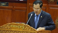 Prime Minister Hun Sen said in the National Assembly this morning. Hun Sen's Facebook page