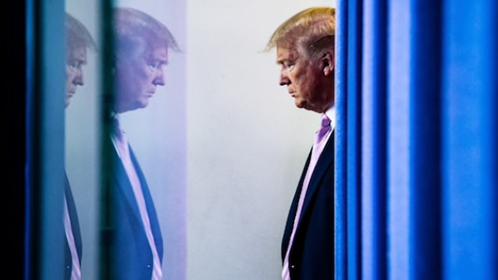 President Trump/ File photo by Washington Post