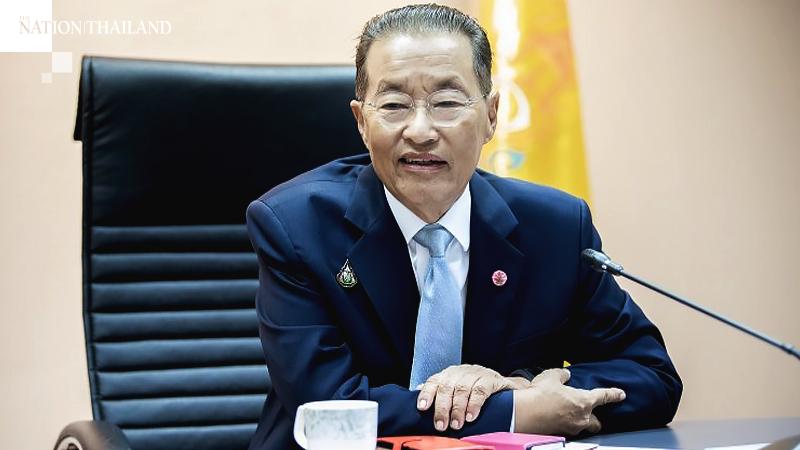 Labour Minister Chatu Mongkol Sonakul