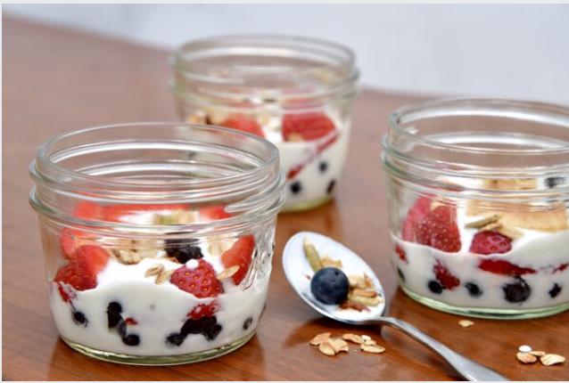Homemade Yogurt. MUST CREDIT: Washington Post photo by Marvin Joseph.