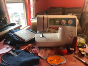 A picture of San Antonio resident Esther Reschman's sewing machine. MUST CREDIT: Photo courtesy of Esther Morales Reschman