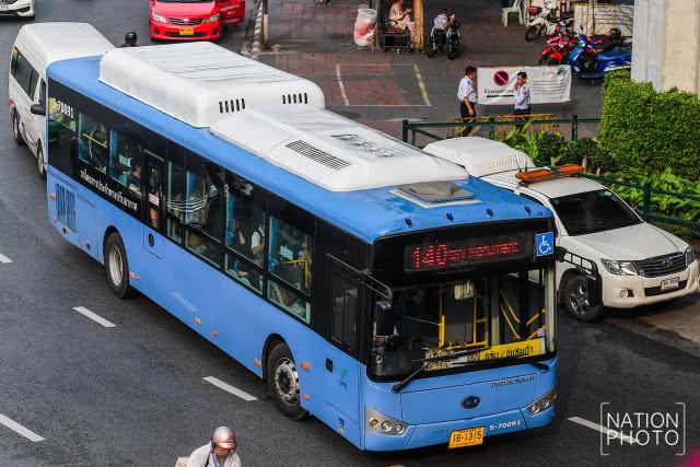 File photo of a bus no 140