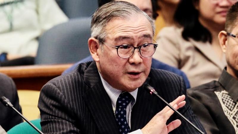 Foreign Affairs Sec. Teodoro Locsin Jr. (Voltaire F Domingo/Senate PRIB)