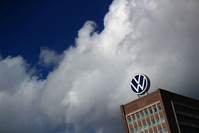 Volkswagen headquarters in Wolfsburg, Germany, on March 12, 2020. MUST CREDIT: Bloomberg photo by Krisztian Bocsi.