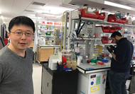 Molecular biologist Feng Zhang is co-inventor of CRISPR, a gene-editing system its inventors say can determine in an hour if someone is infected with the coronavirus. MUST CREDIT: Washington Post photo by Joel Achenbach