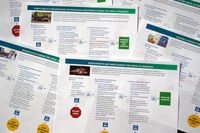 Checklists released by the CDC to guide schools, businesses, and other organizations on reopening. (Jon Elswick)