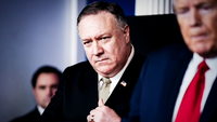 Secretary of State Mike Pompeo. MUST CREDIT: Washington Post photo by Jabin Botsford