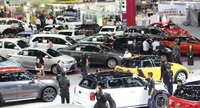File photo of a motor show event in Bangkok