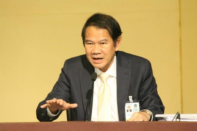 Kanit Sangsubhan, secretary-general of the EEC Office of Thailand