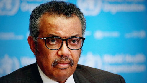 WHO Director-General Tedros Adhanom Ghebreyesus. [Photo/Agencies]