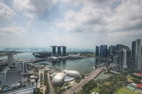 The circuit breaker measures implemented to curb the spread of Covid-19 in Singapore have further dampened domestic economic activity, along with domestic consumption. ST PHOTO: KELVIN CHNG