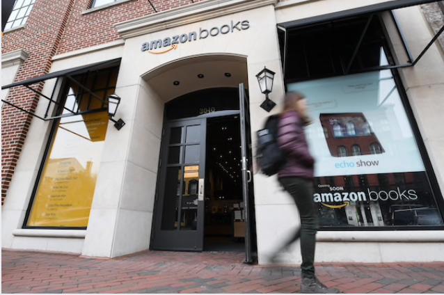 The Amazon Books store in Washington's Georgetown neighborhood. MUST CREDIT: Washington Post photo by Matt McClain