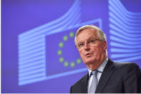 Michel Barnier, chief negotiator for the European Union, in Brussels on March 5, 2020. MUST CREDIT: Bloomberg photo by Geert Vanden Wijngaert.