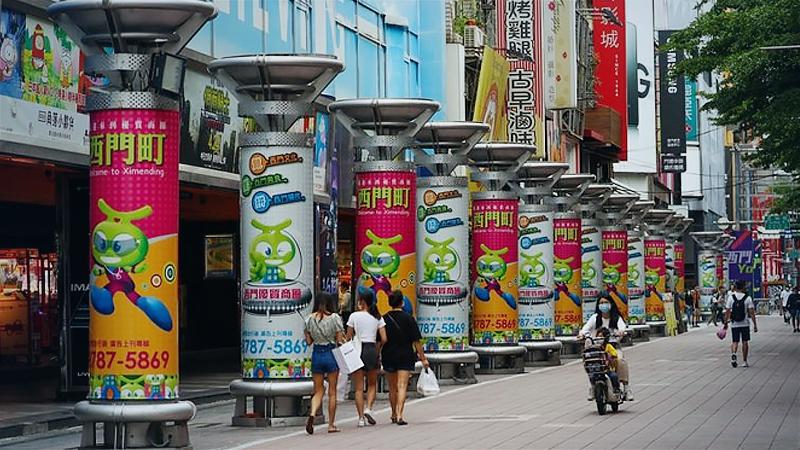 Taipei's Ximending / CNA photo June 2, 2020