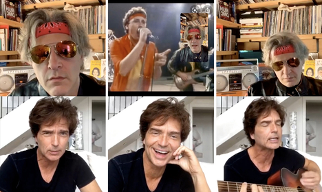 Washington Post arts reporter Geoff Edgers interviewed singer Richard Marx on Instagram Live on May 26 to talk about the singer's newest projects. (The Washington Post)