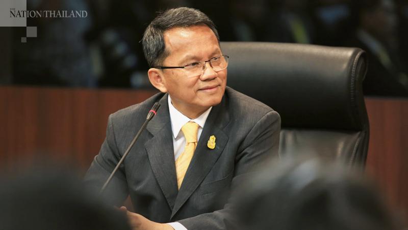 Justice Minister Somsak Thepsutin