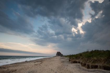 An eroding beach near South Kingstown, R.I. MUST CREDIT: Washington Post photo by Salwan Georges