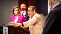 Del. Eleanor Holmes Norton, D-DC., talks about a District of Columbia statehood bill in June 2020. MUST CREDIT: Photo for The Washington Post by Amanda Voisard