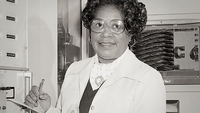 Mary Winston Jackson, the first female African American engineer at NASA. MUST CREDIT: NASA