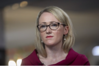 Rebecca Long-Bailey at the Labour Party conference in Brighton, England, on Sept. 24, 2019. MUST CREDIT: Bloomberg photo by Simon Dawson.