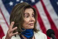 House Speaker Nancy Pelosi (D-Calif.) holds a news conference Wednesday. (Manuel Balce Ceneta/AP)