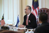 Malaysian Prime Minister Tan Sri Muhyiddin Yassin