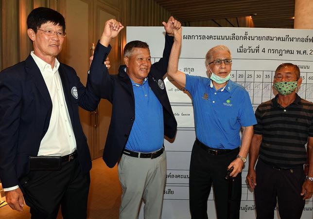 Methee Wins Second Term As President Of Thai Pro Golf Association