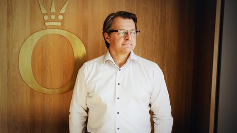 Alexander Lacik, chief executive officer of Pandora, at the company's headquarter offices in Copenhagen, Denmark, on Aug. 19, 2019. MUST CREDIT: Bloomberg photo by Carsten Snejbjerg.  Location: Copenhagen, Denmark