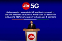 Jio Platforms, with over 20 startup partners, has built world-class capabilities in technologies such as 4G, 5G, Cloud computing. (Photo: Youtube/@Jio)