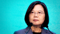 Tsai Ing-wen, Taiwan's president, in Taipei, Taiwan, on Jan. 11, 2020. MUST CREDIT: Bloomberg photo by Betsy Joles.