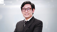Head of Tisco's economic strategy unit Komsorn Prakobphol