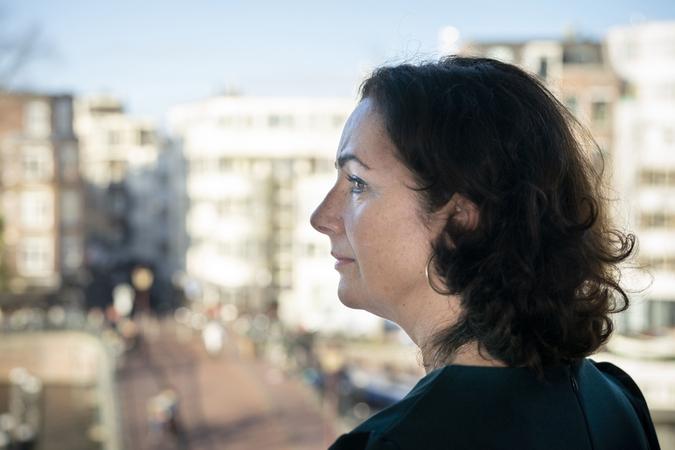 Femke Halsema, mayor of Amsterdam, in her office on Nov. 30, 2018. MUST CREDIT: Bloomberg photo by Jasper Juinens.