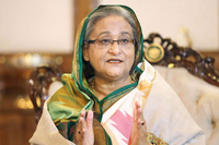 The comments about the state of bilateral ties are timely as Hasina Hasina received a phone call from Prime Minister Khan on Wednesday. ㅡ Photo