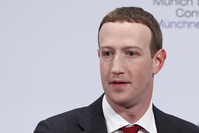 Mark Zuckerberg, chief executive officer and founder of Facebook Inc., in Munich on Feb. 15, 2020. CREDIT: Bloomberg photo by Michaela Handrek-Rehle.