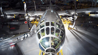 A Boeing B-29 Superfortress nicknamed
