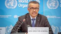 File photo: WHO Director General Tedros Adhanom Ghebreyesus. [Photo/Agencies]