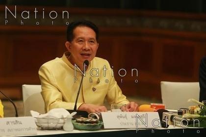 Supant Mongkolsuthree, chairman of the Federation of Thai Industries